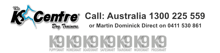 Call the Head Dog Trainer Martin Dominick for ALL dog training needs dog trainer Australia