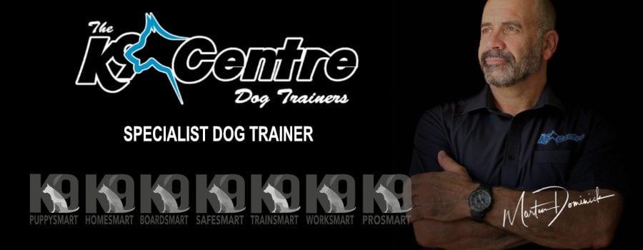Martin Dominick Specialist Dog Trainer Australia dog trainer Australia