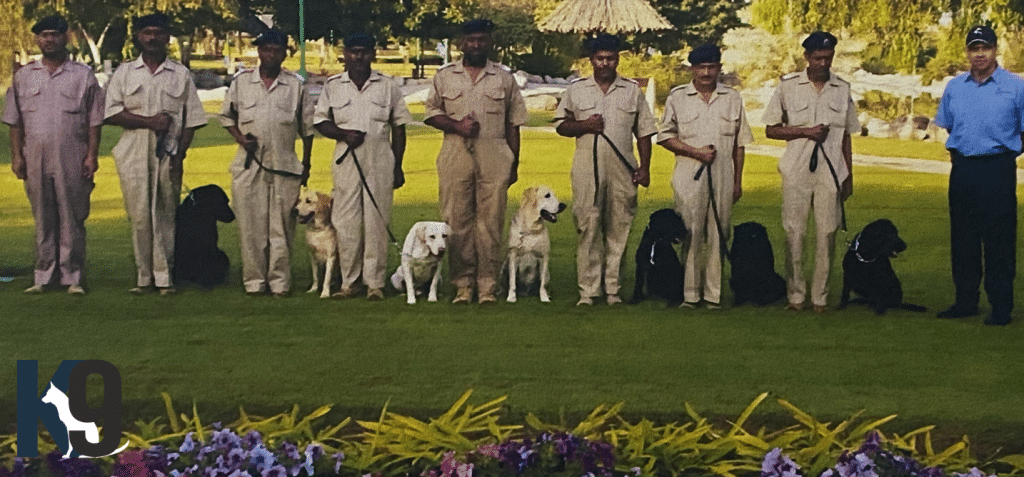Royal Oman Police Dog Training for Detection - Protection and TrackingOman